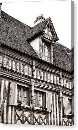 Medieval House Canvas Print by Olivier Le Queinec