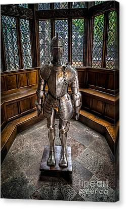 Medieval Knight Canvas Print by Adrian Evans