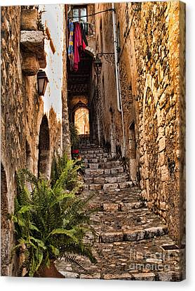 Medieval Saint Paul De Vence 2 Canvas Print