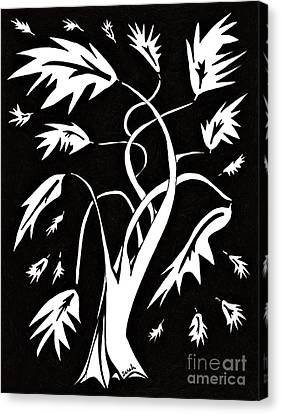 Medieval Tree Canvas Print