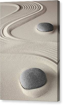 Meditation Background  Canvas Print