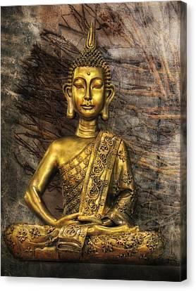 Meditation Canvas Print by Joachim G Pinkawa