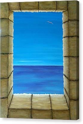Meditation Canvas Print by Pamela Allegretto