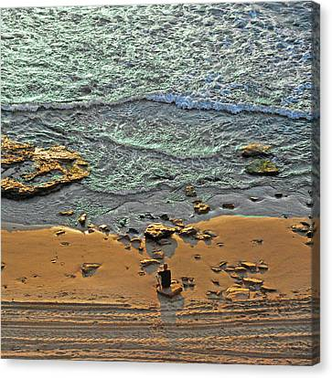 Canvas Print featuring the photograph Meditation by Ron Shoshani