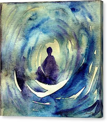 Sikh Art Canvas Print - Meditation  by TS Manhotra