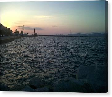 Mediteranean Sunset Canvas Print