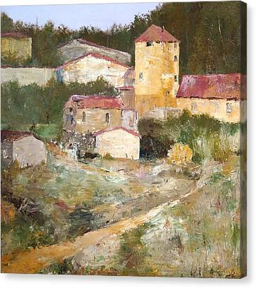 Mediterranean Farm Canvas Print