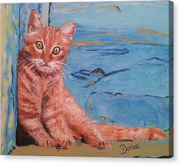 Mediterranean Marmalade Canvas Print
