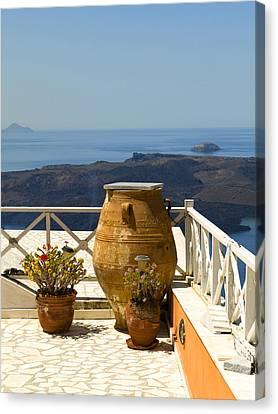 Mediterranean Meditation Canvas Print