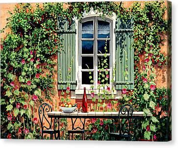 Mediterranean Memories - Oil Canvas Print by Michael Swanson