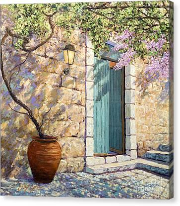 Mediterranean Scent Canvas Print by Miki Karni