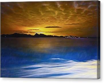 Mediterranean Sunrise Canvas Print
