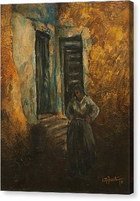 Mediterranian Light Canvas Print by C Michael French