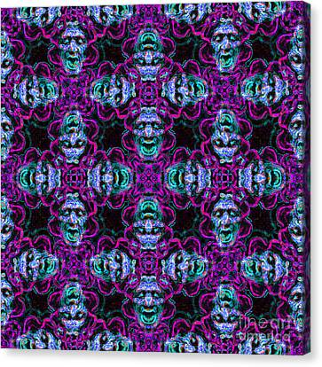Medusa Abstract 20130131m180 Canvas Print by Wingsdomain Art and Photography