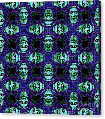 Medusa Abstract 20130131p138 Canvas Print by Wingsdomain Art and Photography
