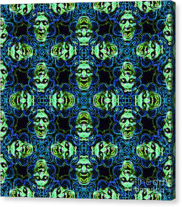 Medusa Abstract 20130131p90 Canvas Print by Wingsdomain Art and Photography