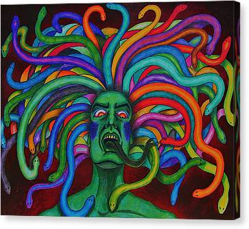 Medusa II Canvas Print by Jeremy Moore