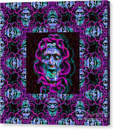 Medusa's Window 20130131m180 Canvas Print by Wingsdomain Art and Photography