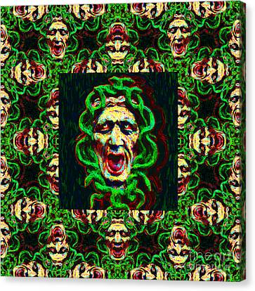 Medusa's Window 20130131p0 Canvas Print by Wingsdomain Art and Photography