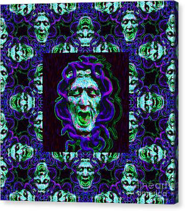 Medusa's Window 20130131p138 Canvas Print by Wingsdomain Art and Photography