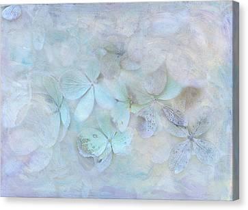 Meet Me In Petals Canvas Print