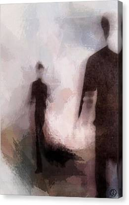 Meeting You Canvas Print by Gun Legler