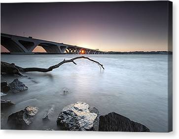 meh I was up anyway so why not Canvas Print by Edward Kreis