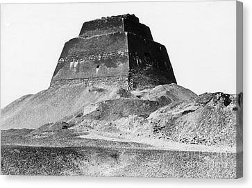 Meidum Pyramid, 1879 Canvas Print by Science Source
