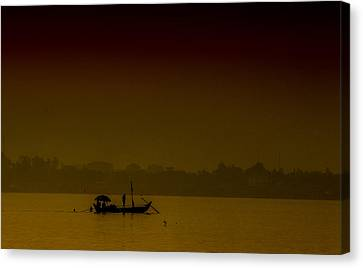 Mekong Morning Canvas Print by David Longstreath