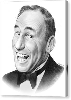 Mel Brooks Canvas Print by Greg Joens