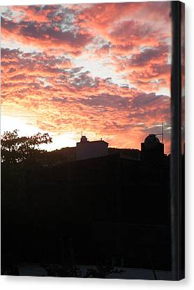 Canvas Print featuring the photograph Melaque Sunset by Brian Boyle