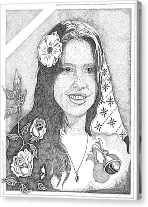 Melinda Canvas Print by Clayton Cannaday
