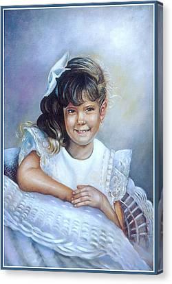 Melissa Canvas Print by Patricia Schneider Mitchell