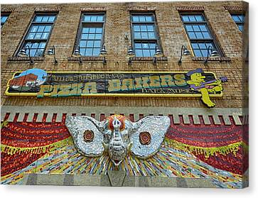 Mellow Mushroom Tuscaloosa Style Canvas Print by Ben Shields