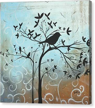Melodic Dreams By Madart Canvas Print by Megan Duncanson