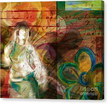 Melody Canvas Print by Bedros Awak