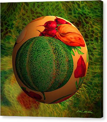 Melon Ball  Canvas Print by Robin Moline