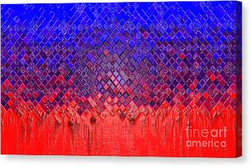 Meltdown Canvas Print by Cristophers Dream Artistry