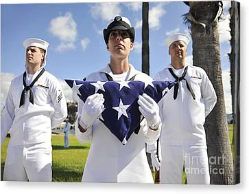 Members Of The Joint Base Pearl Canvas Print
