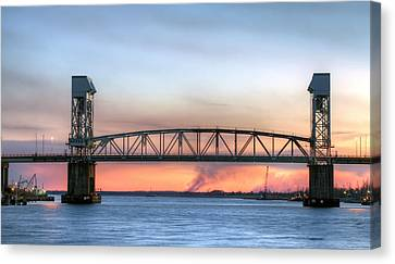 Memorial Bridge Canvas Print by JC Findley