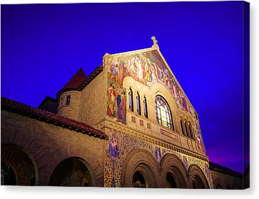 Memorial Church Stanford University Canvas Print by Scott McGuire