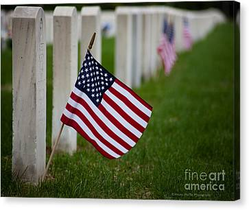 Memorial Day - Fort Snelling National Cemetery Canvas Print