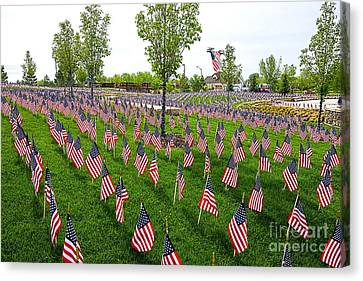 Memorial Day 2014 Canvas Print by Keith Ducker