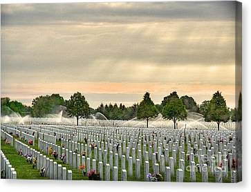 Memorial Day Fort Snelling Canvas Print