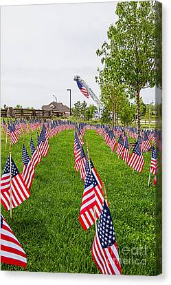 Memorial Day  Canvas Print by Keith Ducker