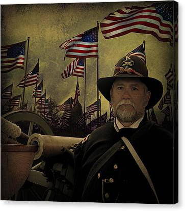 Memorial Day - Remembering The Fallen Canvas Print by Jeff Burgess
