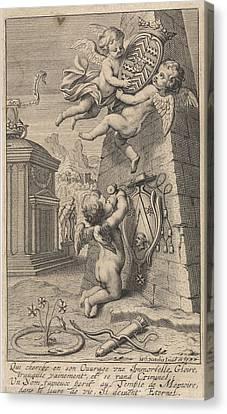 Memorial, Michel Natalis Canvas Print by Michel Natalis