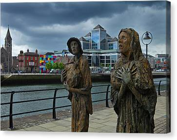 Memorial To The Famine Victims Canvas Print by Panoramic Images