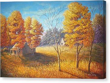 Memories Canvas Print by Loxi Sibley
