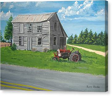Memories... Canvas Print by Norm Starks